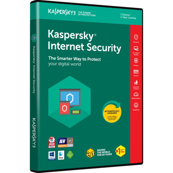 Kaspersky Internet Security Multi-Device 3DT/1Y-B